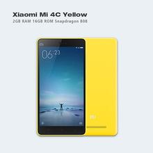 Original Xiaomi Mi4c Mi 4c 4G FDD LTE Mobile Phone Snapdragon808 Hexa Core 5.0 inch 1920X1080P 2GB RAM 16GB ROM 13MP 3080mAh IR(Hong Kong)