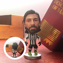 Soccerwe football player movable Dolls.JUV Pirlo classic simulation action figures collectible model doll by original picture