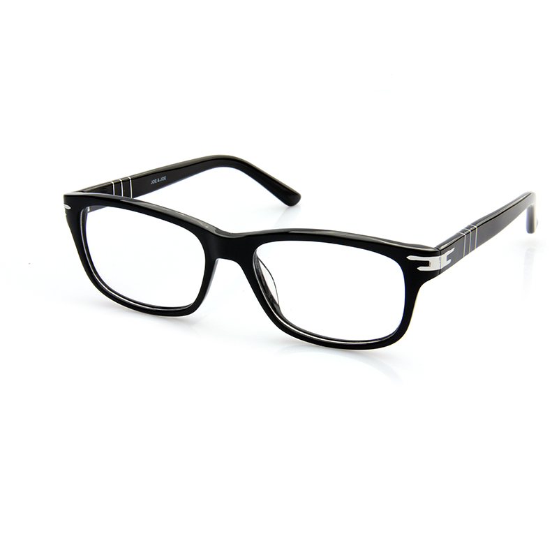 2015 brand designer eye glasses frames for men black color cn0005