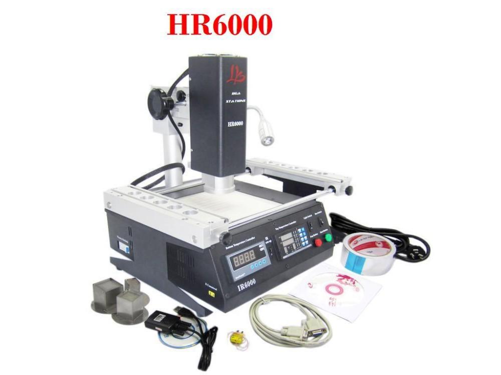 Best price! LY HR6000 Mini hot air BGA rework station SMD soldering machine ,upgraded ir6000(China (Mainland))