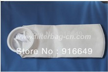 "Polypropylene Liquild Filter Bag White D6""*L22"" 50 micron  5 pcs/lot(China (Mainland))"