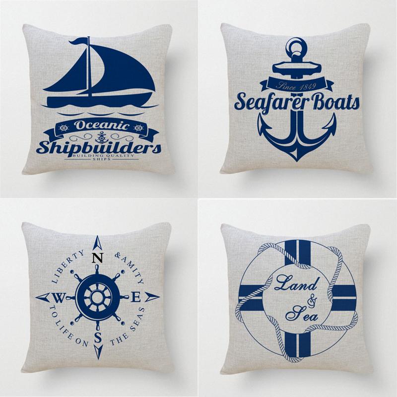 Marine oreiller promotion achetez des marine oreiller for Taie d oreiller pour canape