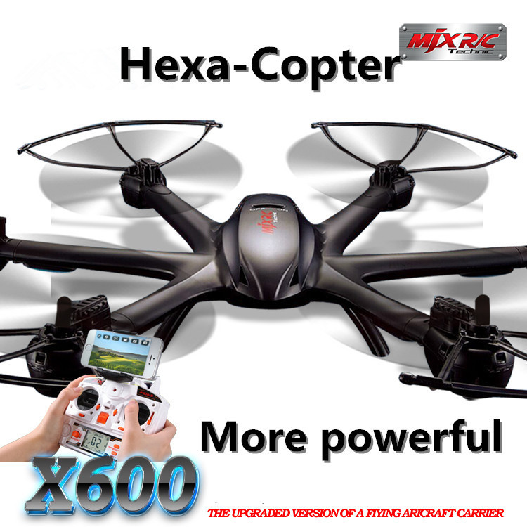 MJX X600 2 4G 6 Axis RC Drone With 0 3MP Wifi FPV C4005 Camera More