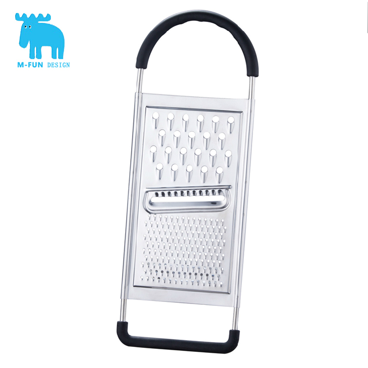 Famous M-Fun Food Grade Stainless Steel Flat Potato Graters Shredder Slicer Useful Multifunctional Cooking Tools 1 Piece(China (Mainland))
