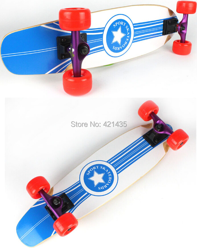 fashional maple skate board Full board double warped four skateboard assembled sand bag free shipping<br><br>Aliexpress
