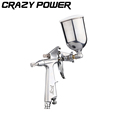 CRAZY POWER Professional Magic Spray Gun Sprayer Airbrush Atomizer Alloy Painting Pneumatic Tool With Hopper For