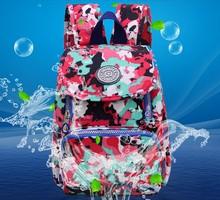 Buy New Casual Women Backpack Female Backpacks Waterproof Nylon Women's Backpack Printing Canvas Backpack Female Bag Back Pack for $23.65 in AliExpress store