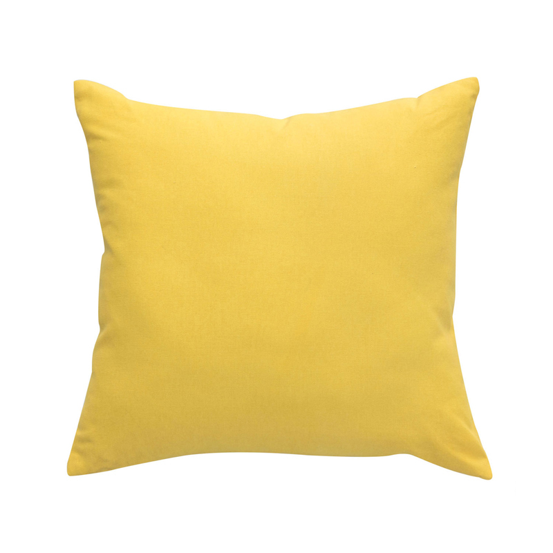Yellow Throw Pillow Covers : America Style Yellow Throw Pillow Cushion Cover Kooshen for Cushions Online