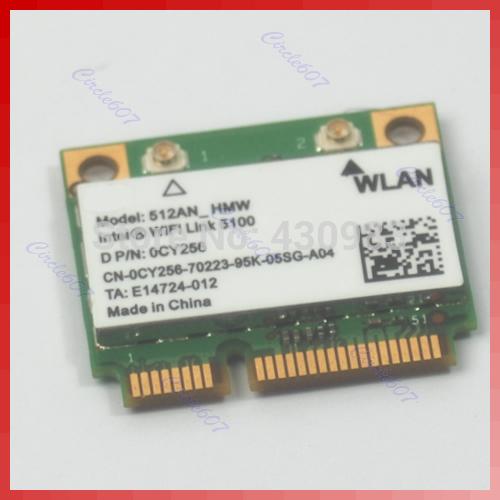 Free Shipping Half Size Mini Pci-e Wlan Card For Intel WiFi Link 5100(China (Mainland))