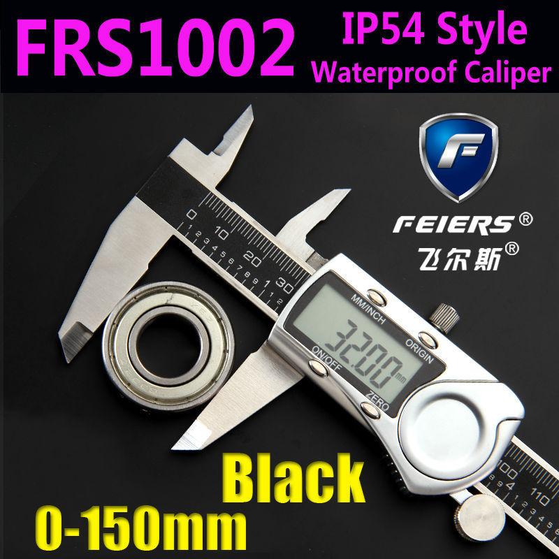 "FRS1002 IP54 Style Waterproof digital caliper, Free shipping 150mm 6"" Digital CALIPER VERNIER GAUGE MICROMETER/Stainless Steel(China (Mainland))"
