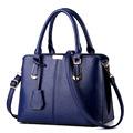 2016 Korean version OL bag winter fashion casual handbag office lady bag Simple and atmospheric wrinkles