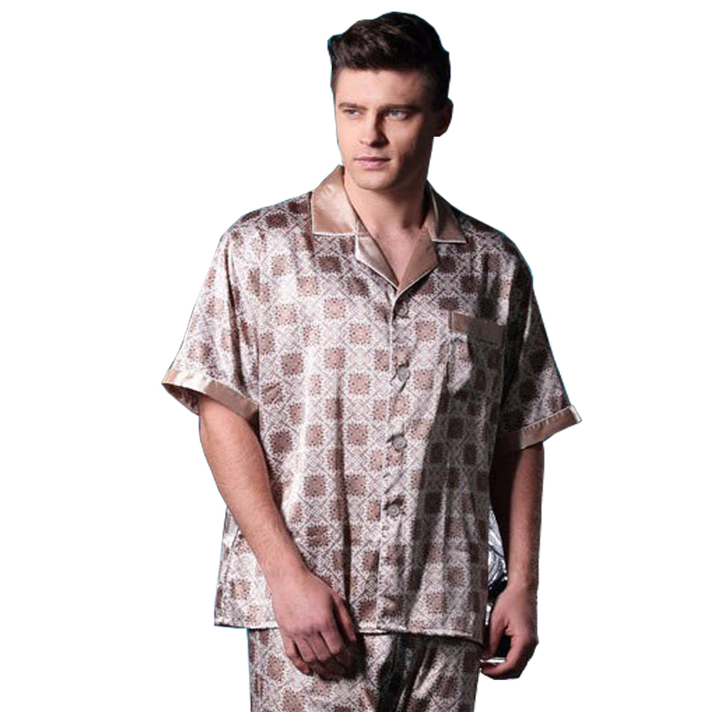 2015 hot vente hommes pyjamas costume pyjamas confortables pour hommes manches courtes pyjamas. Black Bedroom Furniture Sets. Home Design Ideas
