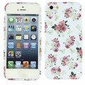 Binmer Flower Silicone TPU Back Case Skin Cover For Apple Iphone 5 5S Top Quality Hot