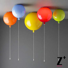 Led lights ceilings Modern brief lamps child light multicolour balloon lamp for children holiday bedroom light(China (Mainland))