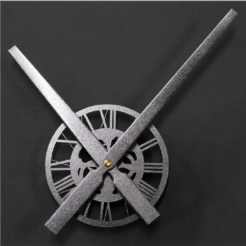 Wall Clock Mechanism Clock Mechanism Large Acrylic rust texture pointer creative DIY Kit movement when sand Watch Accessories(China (Mainland))