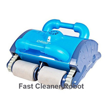 Swimming Pool Automatic Cleaning Robot Swimming Pool Intelligent Vacuum Cleaner With the Wall Climbing and Remote Control(China (Mainland))