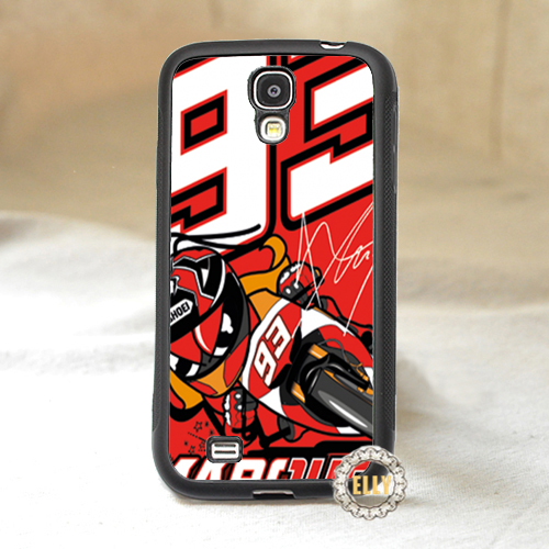 Marc Marquez 93 fashion mobile case cover Samsung galaxy S3 S4 S5 S6 S7 Note 2 3 note 4 *cV288  -  ELLY store