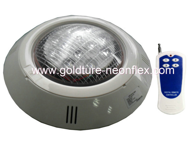 Wall Mounted Pool Lights : 12*3W high power wall mounted pool light 36w underwater light RGB color with remote 12V Gorden ...