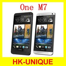 US Version Original HTC One M7 Unlocked cell phones GPS WIFI 4.7 inch Touch Screen 8MP camera 32GB storage free shipping