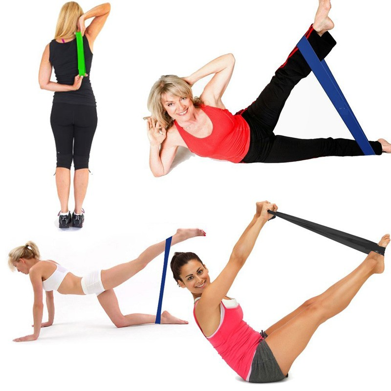 Resistance Bands Treadmill Workout: Exercise Resistance Loop Bands Fitness Stretch Elastic