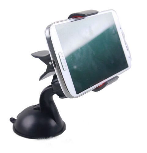 360 Clip-on Grip Car Windscreen Suction Mount Holder for Latest Mobile Phones High Quality 1PCS ONLY(China (Mainland))