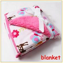 Baby Blanket Coral Fleece for Newborn Soft Infant Carters Cotton Crib Bedding Set Girl Boy Newborn Bed Sleeping size 76*102(China (Mainland))