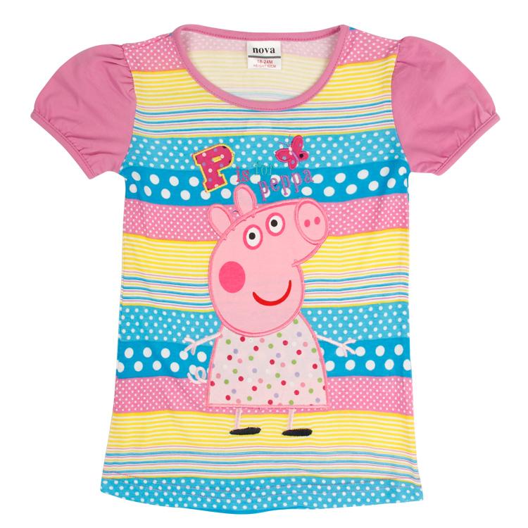 nova kids summer dress 2016 girl dress new free shipping  Girls Princess embroidery cute cartoon girl dress children baby girl <br><br>Aliexpress