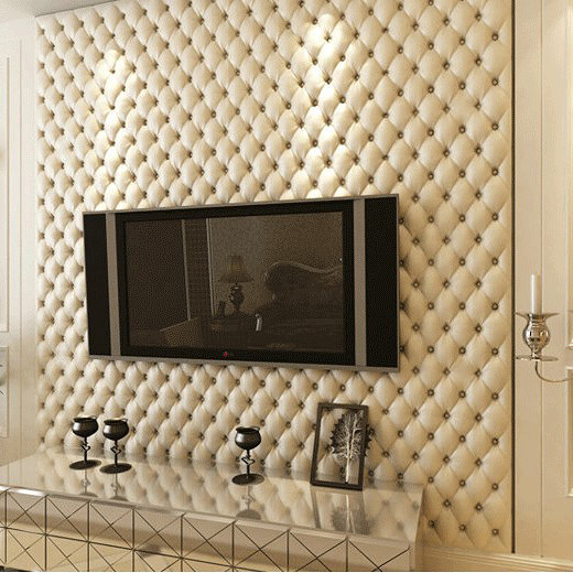 Buy modern 3d wallpaper pvc waterproof for Waterproof wallpaper for walls