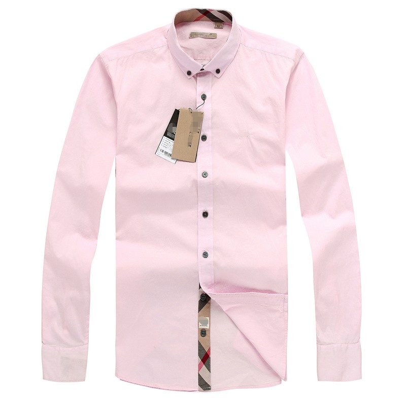 Solid Casual 2015 no iron long sleeved plaid shirt men 100% cotton dress shirt famous luxury brand high quality free shipping