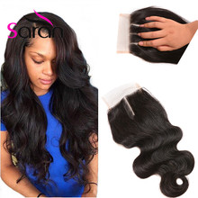 Thick End Indian Virgin Hair Lace Closure Body Wave Raw Indian Closure Wet And Wavy Closure cheap closures with free shipping