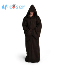 Star Wars Darth Vader Terry Jedi Bathrobe For Men Cloack Costume Jedi Knight Bath Robe