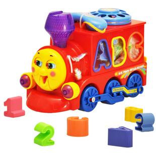 free shipping Department of music 8810 thomas small train yakuchinone telephone digital playright electric toy(China (Mainland))