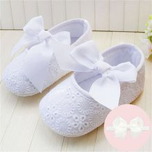 Spring Soft Sole Girl Baby Shoes Cotton First Walkers Fashion Baby Girl Shoes Butterfly-knot First Sole Kids Shoes(China (Mainland))