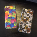 Colorful Doge Case Capinha For iPhone 5 Case TPU Silicone PC Matte Hard Coque SharPei Dog