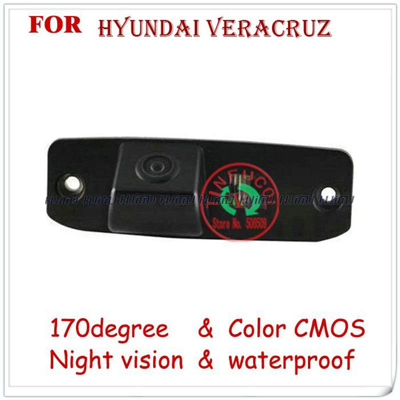 wire wireless car camera rear view Camera waterproof wide-angle for Hyundai Veracruz parking assistance free shipping(China (Mainland))