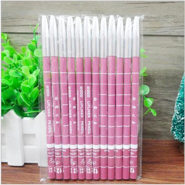 1 PCs Free Shipping Women's Lip Pencil Waterproof Lip Liner Long Lasting 15CM Eyebrow Eyeliner Lip Pencil Makeup Maquiagem