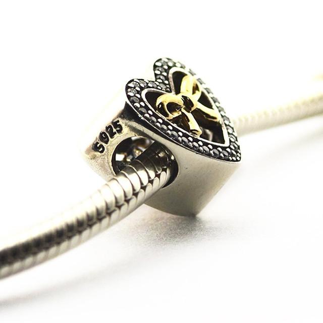Новый горячая распродажа подходит пандора браслеты оригинал 925 бусины связанные любовь очарование DIY бусины оптовая продажа