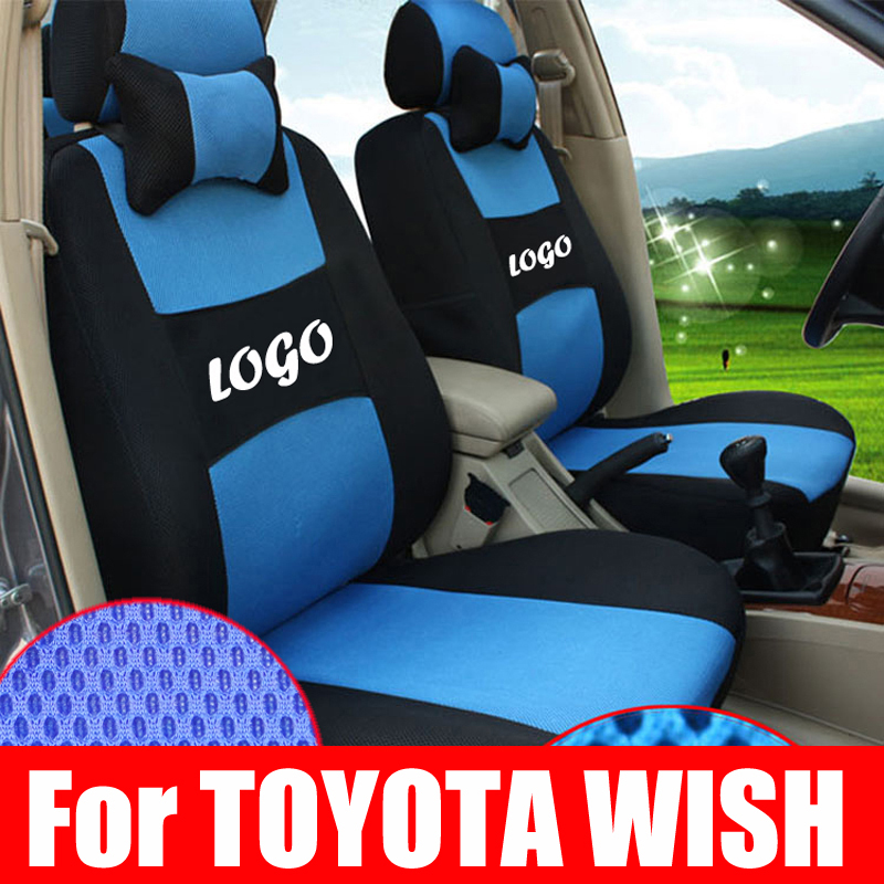 Custom Car Interior Accessories For Toyota Wish 2009 Accessories Seat Covers Sandwich Car Covers