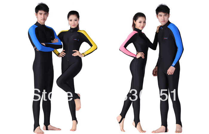 Diving suit Swimming full bodysuit Swimsuit Swimwear One-Pieces Men/Women Wetsuits Dive Surfing Wetsuit - Ada Yao's store