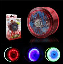 Di alta qualità professionale yoyo lega di figura della farfalla luce luminosa giocattoli di moda per bambini yo yo yo-yo regali per i bambini(China (Mainland))