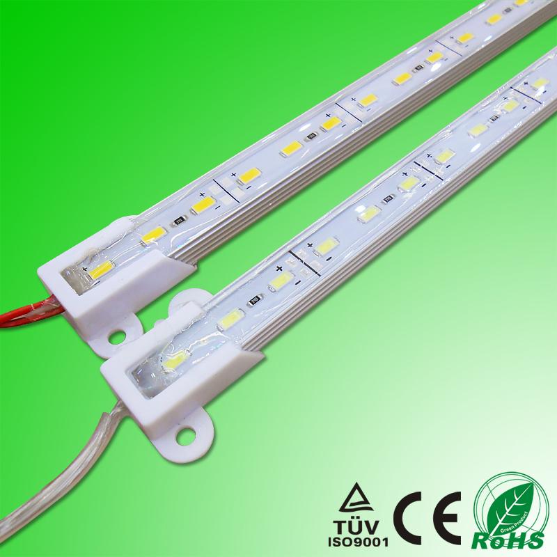 Armarios Tiras LED Rigidas 5630 0.5M LED Rigid Bar Light Aluminium Profile LED Kitchen Cabinet Light Jewelry Showcase Lighting(China (Mainland))