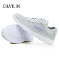 Men Sneakers Mesh Casual Shoes Gray Spring Air Breathable Plus Size 38 48 Loafers Men Light