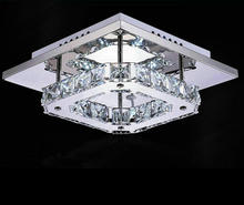 Modern and Stylish 12W Ceiling Chandelier K9 Crystal Lamp AC90V-260V  Living Room Lamp Lighting Fixtures Aisle Lights Y-026(China (Mainland))