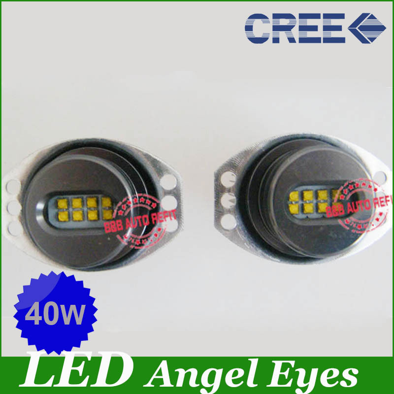 FreeShipping Super Emiting E90 E91 40W Power LED Marker Angel eyes bulbs for BMW<br><br>Aliexpress