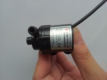 Mini 6V-12V DC Brushless Small Water Pump Submersible Motor Pump 1.8M 230L/H