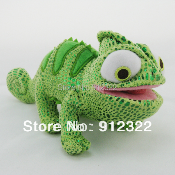 New Wholesale~~Princess Tangled Rapunzels Friend ~Pascal~~ the Chameleon 8 Plush doll FREE SHIPPING<br><br>Aliexpress