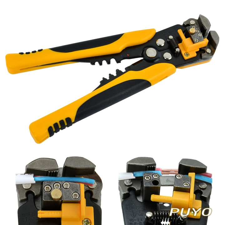 2014 Hot Sell Multifunctional Automatic Cable Wire Stripper Self Adjusting Crimper Terminal Tool TK0742(China (Mainland))