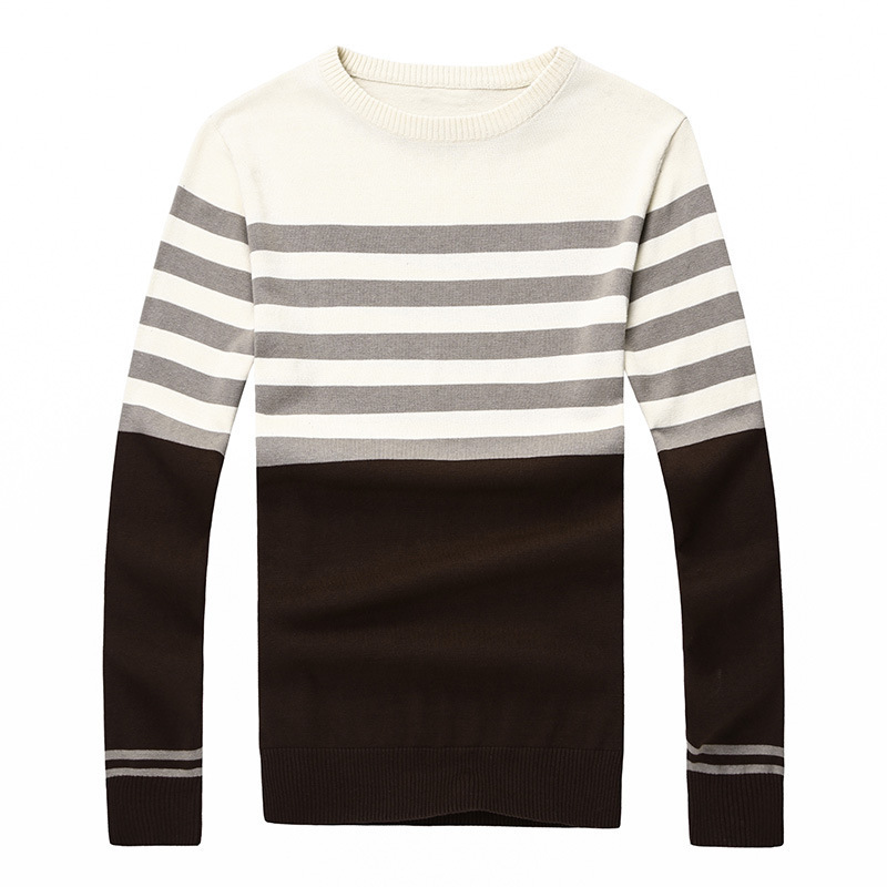 2015 New Designers High Quality Brands New Winter Men's O-Neck Cashmere Sweaters Jumpers Pullovers Sweater Man Slim L-XXL FX075(China (Mainland))