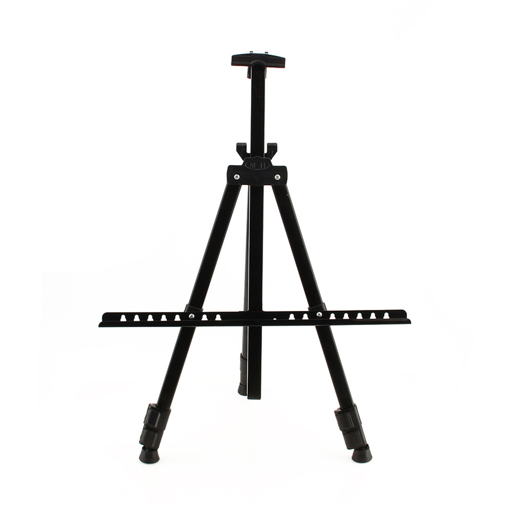 Artist Field Studio Painting Easel Tripod Display Telescopic White Board Stand Metal Brackets(China (Mainland))