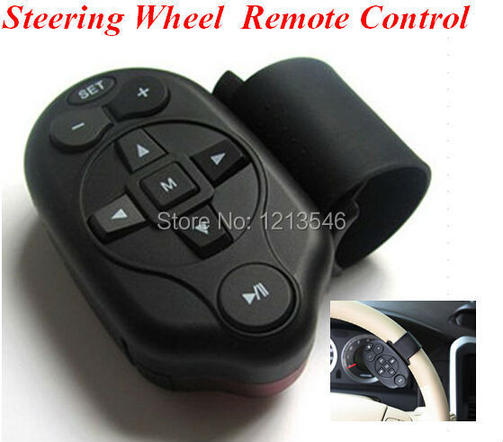 Version Auto Car Universal Steering Wheel Study Remote Control DVD GPS DC TV MP3 Player - SHENZHEN GULIA TECH. CO.,LTD store